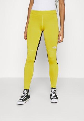 TIGHT - Leggings - Trousers - citronelle green