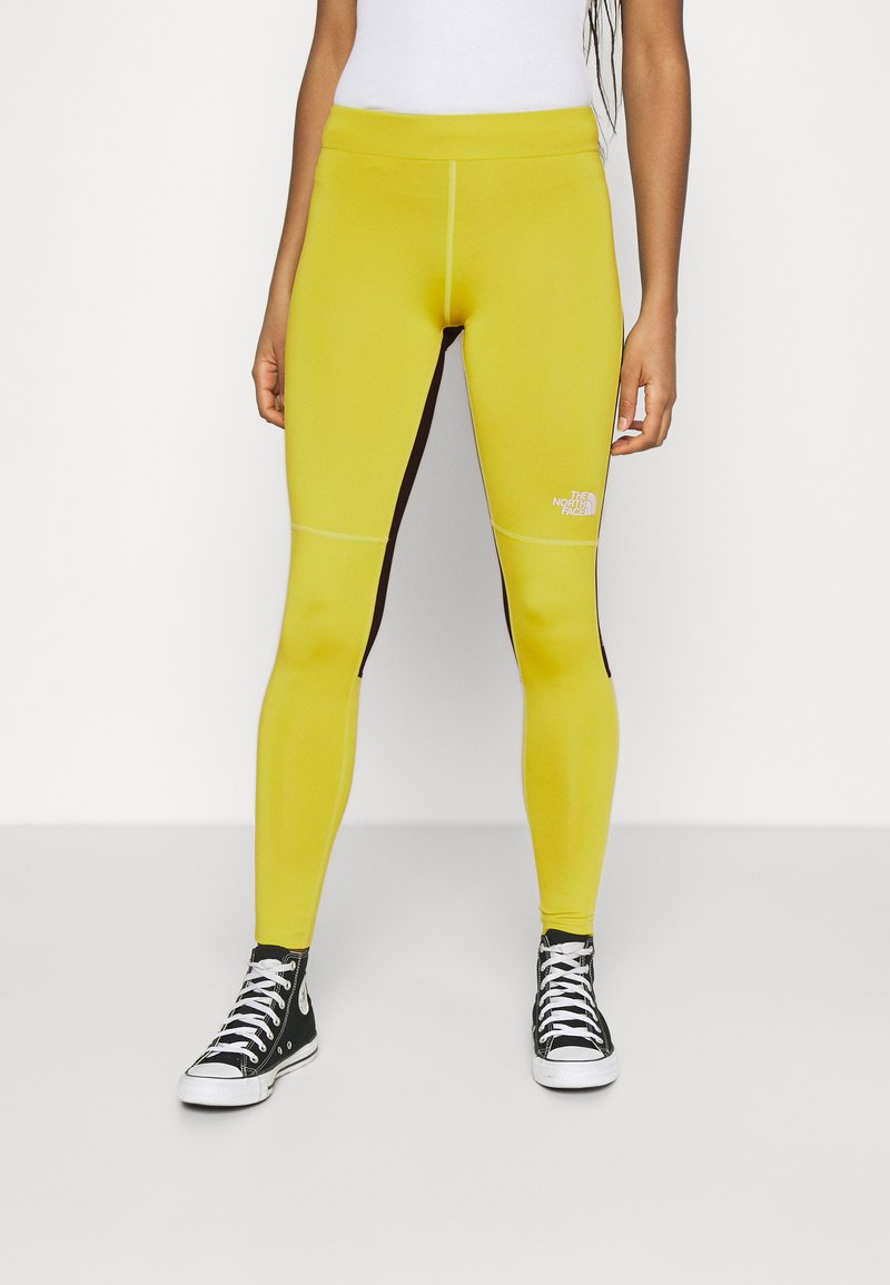 The North Face - TIGHT - Leggings - Trousers - citronelle green