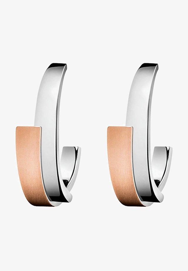 INTENSE - Earrings - rosegold-farben