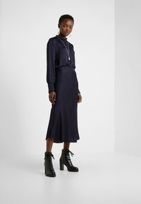 Bruuns Bazaar - BACA SKIRT - A-line skirt - dark navy - 1