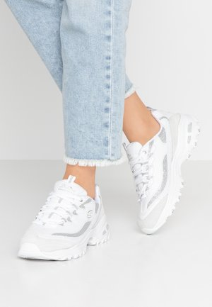 D'LITES - Trainers - white/silver glitter
