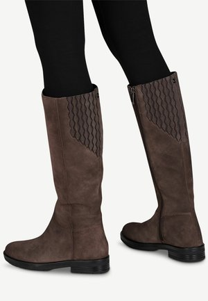 Boots - mineral suede