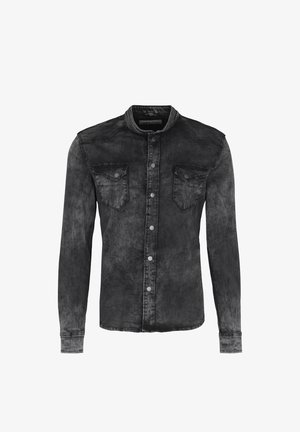 FREDDY 6482 ZIP - JEANSHEMD - - Shirt - vintage black