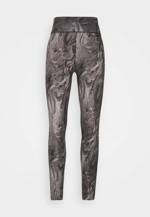 WELLNESS - Leggings - Trousers - grey marble wash