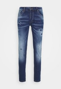 Alessandro Zavetti - CARROT FIT - Jeans Tapered Fit - indigo