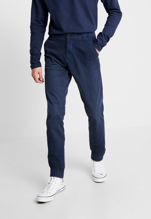 SCANTON WASHED PANT - Chinosy - dark blue