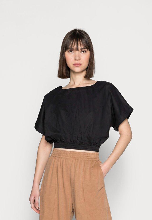 BLOUSE BASEL - Print T-shirt - black