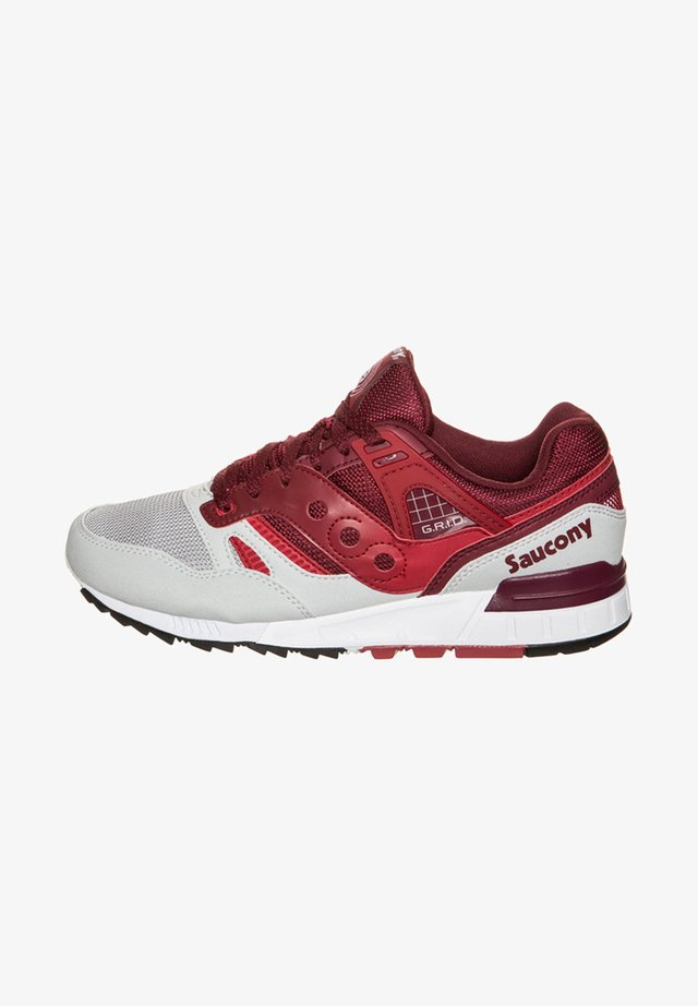 GRID SD - Trainers - red / grey