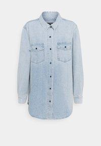 Missguided - BOYFRIEND FIT - Button-down blouse - blue - 0