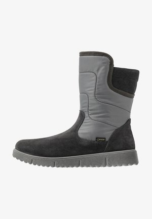 LORA - Winter boots - grau/blau