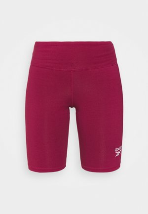 RI SL FITTED SHORT - Tights - punch berry