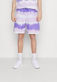 adidas Originals - UNISEX - Shorts - light purple/multicolor - 0