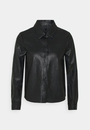 VMDUNDEE  - Button-down blouse - black