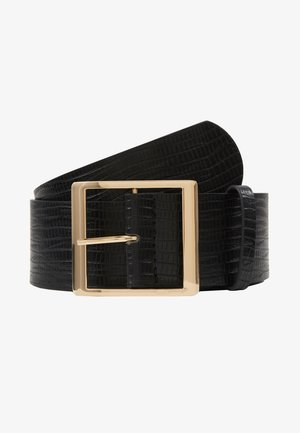 SUS BELT - Tailleriem - black/gold