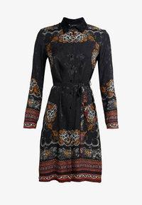 Desigual - VEST SUAM - Košilové šaty - black - 5