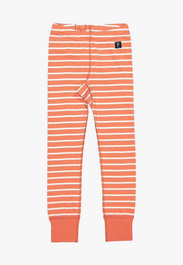 Tracksuit bottoms - apricot brandy