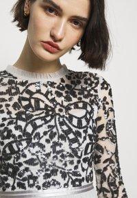 Needle & Thread - SEQUIN RIBBON LONG SLEEVE BODICE DRESS - Suknia balowa - crystal blue - 5