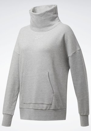 TRAINING ESSENTIALS COVER-UP - Sweatshirts - grey