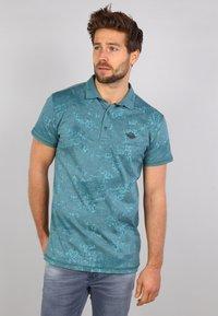Gabbiano - Polo shirt - kale green - 0