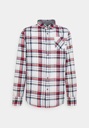 ROOKER - Shirt - ecru/navy/red