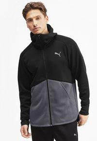 Puma - Training jacket - black-castlerock - 0