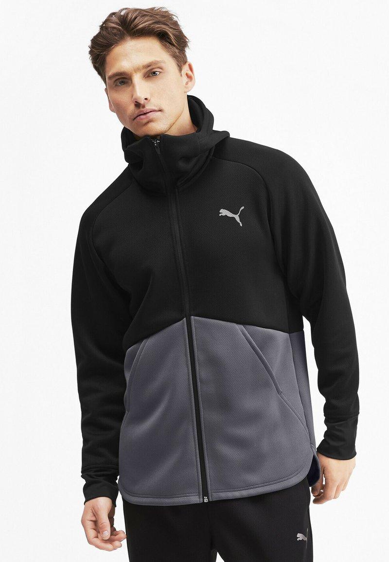 Puma - Training jacket - black-castlerock