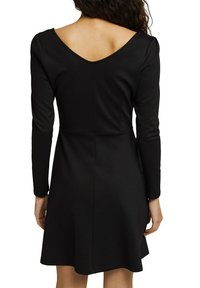 edc by Esprit - PUNTI  - Day dress - black - 8