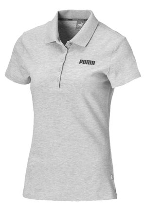 Polo - light gray heather