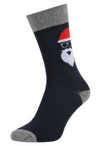 Jack & Jones - JACFRANK  4 PACK - Socks - navy blazer - 1