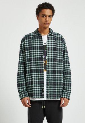 Skjorter - mottled light green