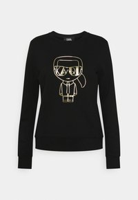 KARL LAGERFELD - IKONIK ART DECO - Sweatshirt - black - 0