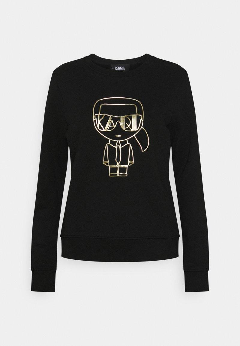 KARL LAGERFELD - IKONIK ART DECO - Sweatshirt - black