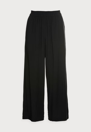 FLOATY PANTS - Trousers - black