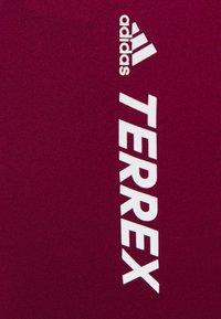 adidas Performance - TERREX - Tights - berry - 5