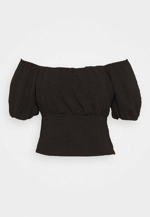 A LITTLE CLOSER - Camicetta - black
