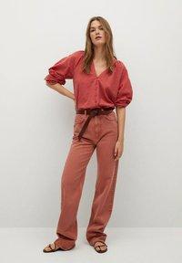 Mango - Button-down blouse - aardbeirood - 1