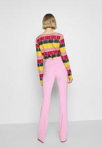 Pinko - MANDARINO PANTALONE PUNTO STOF - Bukse - fiore di rosa - 2