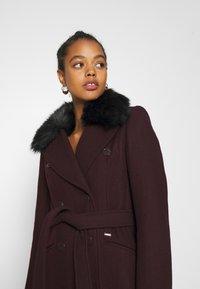 Morgan - Płaszcz wełniany /Płaszcz klasyczny - bordeaux - 5