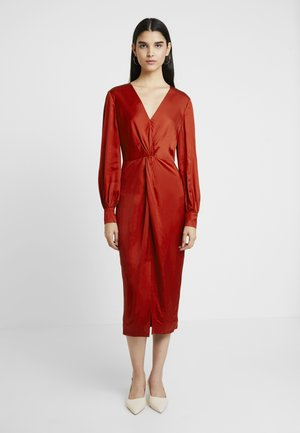 PENALO - Cocktail dress / Party dress - brick red