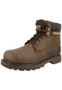 Cat Footwear - COLORADO - Šněrovací vysoké boty - chocolate - 0