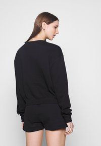 Nike Sportswear - HERITAGE CREW  - Felpa - black/grey heather/white - 2