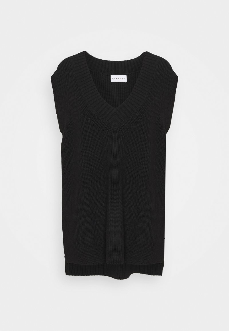 BLANCHE - HYBRID - Basic T-shirt - black