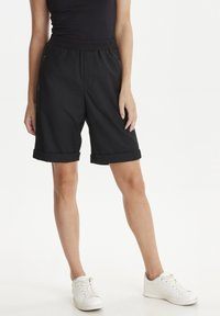 PULZ - PZSAMANTHA - Trousers - black - 0