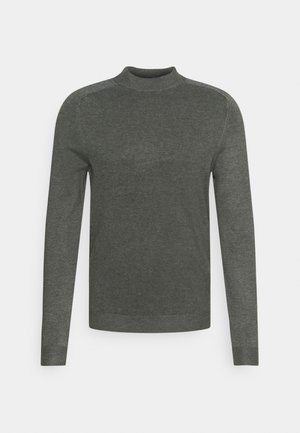 SLIM FIT - Jersey de punto - medium grey melange