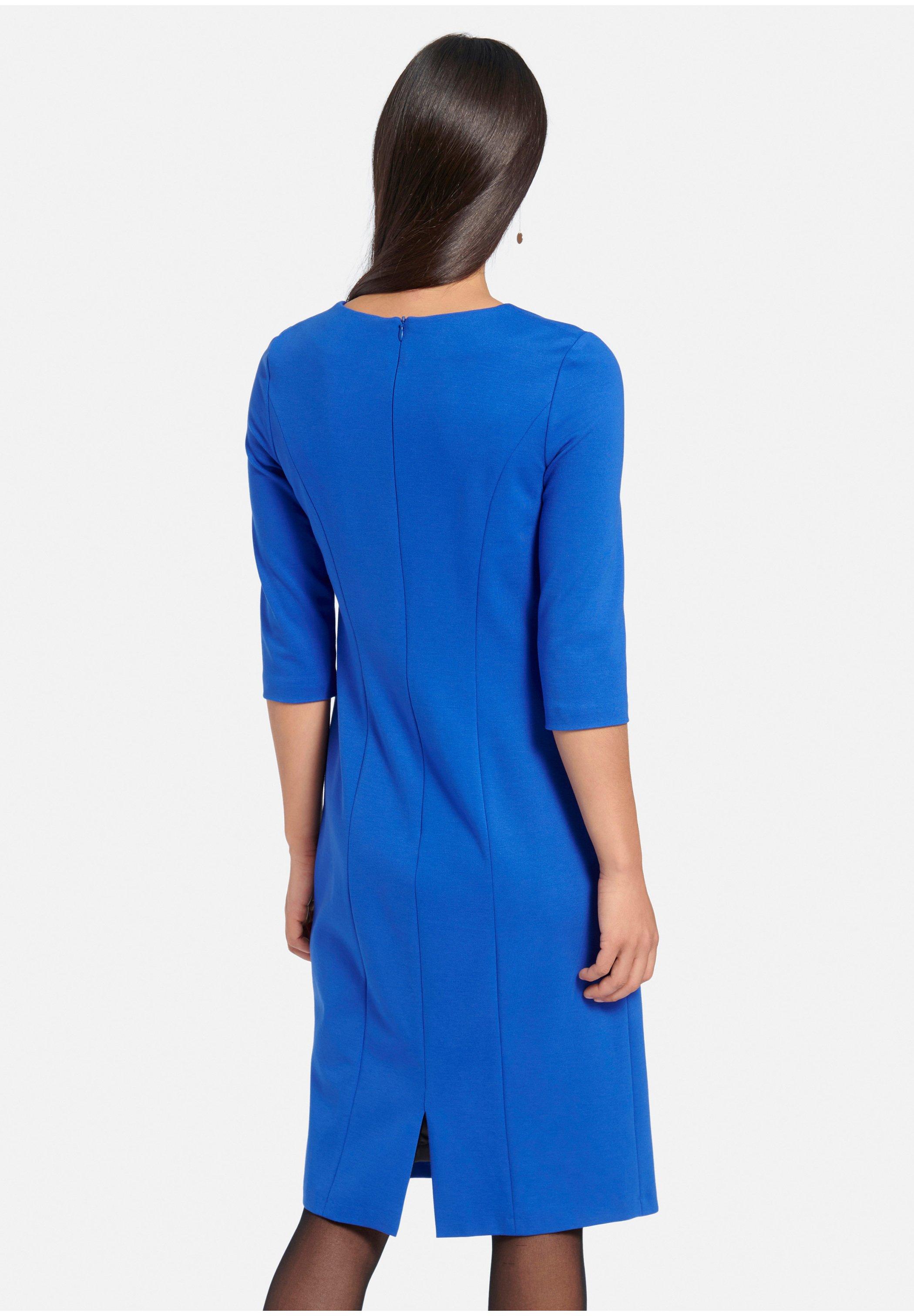Uta Raasch Jerseykleid kornblumenblau/blau