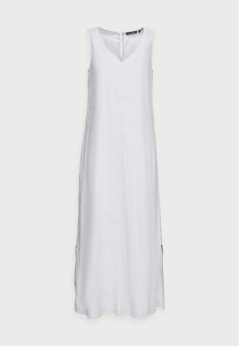 DRESS RELAXED TANK STYLE V-NECK SLITS - Robe longue - spring water