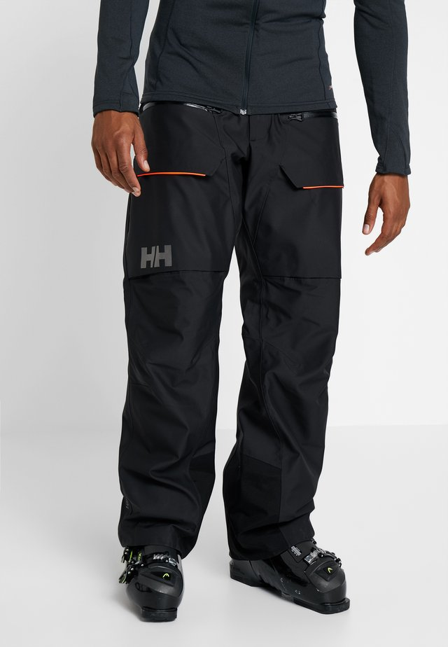 GARIBALDI PANT - Pantalón de nieve - black