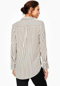 s.Oliver BLACK LABEL - Button-down blouse - cream - 2