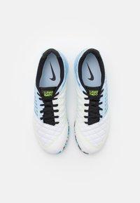 Nike Performance - LUNARGATO II - Indoor football boots - celestine blue/black/laser blue/volt - 3