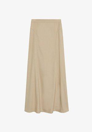 TINTO-A - Maxi skirt - beige